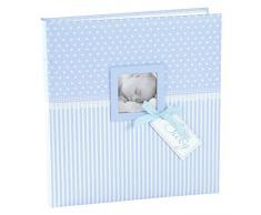 Goldbuch Babyalbum Sweetheart, Jungen, 30x31 cm, 60 Seiten mit Pergamin, Kunstdruck, Blau, 15802