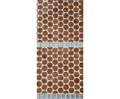 Kork Mosaik Fliesen Bodenbelag Wandbelag 60 cm x 30 cm Stärke 6mm massiv / In- und Outdoor / Feuchträume / Bäder / Terrassen / Schwimmbäder / Wege