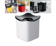 Rosti Mepal Tischabfallbehälter- Cube weiß