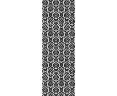 1art1 51304 Dekoration - Ornamente Grau Selbstklebende Fototapete Poster-Tapete 250 x 79 cm