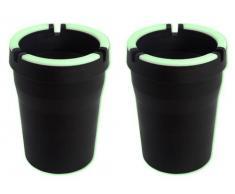 2 Stück Sturmaschenbecher Anti-Geruch- Windaschenbecher