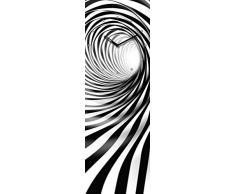 Eurographics Wanddekoration Wandbild Uhr Wanduhr Bilderuhr Glasbilder Time Art 20 x 60 cm Undertow