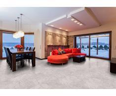1 m² Design Korkboden / Klebekork / bedruckter Korkboden / PrintStone Steindekor - White marmor