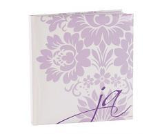 Goldbuch Hochzeitsalbum, 23x25cm, 176 Seiten mit Pergamin, Ja, Weiß/Flieder, 48021