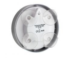 TFA 60.3502 Funk Badezimmeruhr Funkuhr Mit Höchster Genauigkeit, 4 Große  Saugnäpfe   Befestigung
