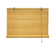 Bambusrollo 100 x 160 cm in bambus - Fenster Sichtschutz Rollos - VICTORIA M