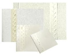 goldbuch Fotoalbum, La Belle, 30 x 31 cm, 60 weiße Seiten mit Pergamin-Trennblättern, Mit geschenkverpackung, Beflocktes Kunstleder, Perlmutt, 27677