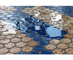 Korkboden Kork Mosaik Fliesen Bodenbelag Wandbelag 60 cm x 30 cm Stärke 6mm massiv / In- und Outdoor / Feuchträume / Bäder / Terrassen / Schwimmbäder / Wege (5)