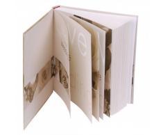 HENZO Hochzeitsalbum NOA inkl. Aufbewahrungsbox - 60 Seiten 30,5 x 28cm - Album - Fotoalbum z. Hochzeit - Hochzeitsbuch