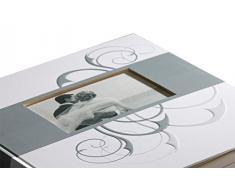 Walther Hochzeits Fotoalbum ROMANCE - für bis zu 184 Fotos 10 x 15 cm - 50 weiße Seiten - Album - 30,5 x 28 cm - Hochzeitsfotoalbum - Buchalbum - Fotobuch