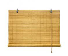 Bambusrollo 80 x 160 cm in bambus - Fenster Sichtschutz Rollos - VICTORIA M