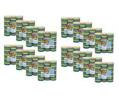 Idena Luftschlangen Set (48er Pack, Luftschlangen)
