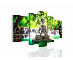 Bilder 100 x 40 cm - Feng Shui Bild - Vlies Leinwand - Kunstdrucke -Wandbild - XXL Format - mehrere Farben und Größen im Shop - Fertig Aufgespannt !!! 100% MADE IN GERMANY !!! - 503512a