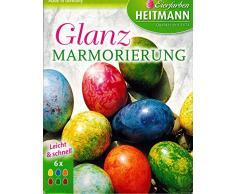 Ostereier Farben / Eierfarben Glanz Marmorierung (6 Farben) OSTERN