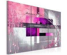 Bilder 120x80 cm - 3 Farben zur Auswahl - XXL Format - TOP Vlies Leinwand - 3 Teilig - Wand Bild Kunstdruck Wandbild - Abstrakt a-A-0110-b-g 120x80 cm B&D XXL