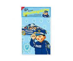 8 Partytüten * POLIZEI * von Lutz Mauder // 10116 // Kinder Geburtstag Party Kinderparty Kinderfest Fete Mitgebsel Geschenktüten Polizist