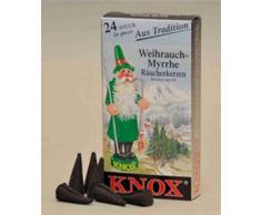 Knox Räucherkerzen Weihrauch-Myrrhe 24 St. / Pkg.