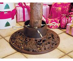 Weihnachtsbaumständer Baumständer Gusseisen rund Tanne - XM07
