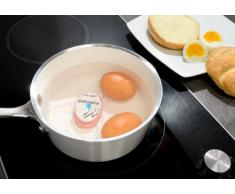 PEARL Eierkocher: Eieruhr Egg-Timer, lebensmittelecht (Eiertimer)