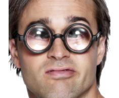 Smiffys - Brille die die Augen vergrößert Idiot Scherzartikel