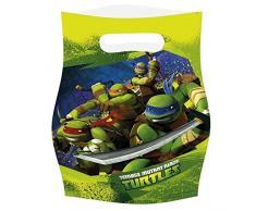 amscan Teenage Mutant Ninja Turtles 6-Party Geschenktüten