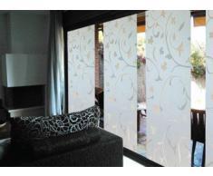 LINEA Fix Dekorfolie statische Fensterfolie Ranken Roma Größenwahl: 0.92m x 0.60 m