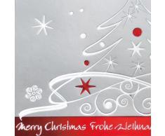 Sigel DS393 Weihnachtskarten Set mit Umschlag, DIN lang, 10 Stück, mit Prägung - weitere Designs