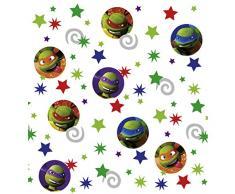 Amakando Ninja Turtles Konfetti Partykonfetti 34 g Kindergeburtstag Papierkonfetti Tischdeko Geburtstag Dekokonfetti Geburtstagskonfetti