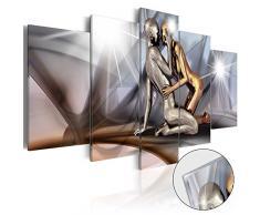 murando - Acrylglasbild Abstrakt 100x50 cm - 5 Teilig - Bilder Wandbild - modern - Decoration - h-A-0019-k-m