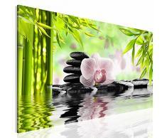Wandbilder XL 50 x 100 cm EG4100502395 MUSCHEL STRAND TÜRKIS Feng HD GlasBild
