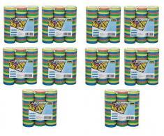 Idena 8274021 - Luftschlangen, Mehrfarbig (10x 3er Set, Mehrfarbig)