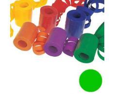Luftschlange unifarben, Standardmaß, grün