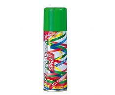 NET TOYS Luftschlangenspray Luftschlangen Spray grün Silvester Sprühschlangen Motto Party Schlangenspray Fasching Partyspray Mottoparty Kosmetik Karneval Accessoires