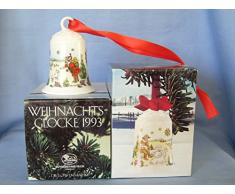 Hutschenreuther Weihnachtsglocke 1993*Rarität, Porzellanglocke, Anhänger, Weihnachten, Baumschmuck