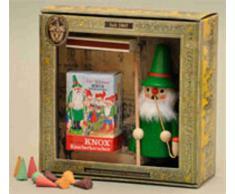 Geschenkkarton mit Räuchermann ca. 11cm KNOX-Wichtel
