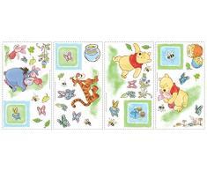 RoomMates RMK1630SCS RM - Disney Winnie Puuh Wandtattoo, PVC, Bunt, 29 x 13 x 2.5 cm