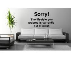 Banksy Wandsticker / Wandaufkleber 120208, 60 x 100 cm, Zitat-Motiv Sorry! The lifestyle you ordered is currently out of stock (englisch)