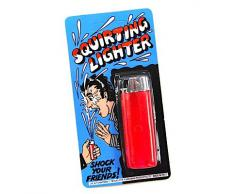 MIK funshopping Scherzartikel Squirting Lighter - mach die Raucher nass