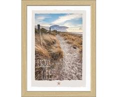Pro-Art an572b2 Wandbild Scandic-Living maritim brand - enjoy the little things 35 x 45 cm