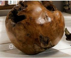 *UNIKAT* Dekokugel Holzkugel Kugel aus Teakholz Ø 40cm