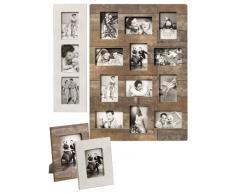 Walther Unique Home Living Galerierahmen Kerry für 12 Fotos 10x15 cm, braun