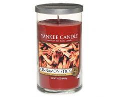 Yankee Candle Duftkerze, Stumpenkerze, Cinnamon Stick, rot, M
