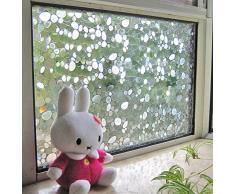 Lifetree 106 Home Fensterfolie Sichtschutzfolie Statisch Folie Selbstklebend 45 * 200cm