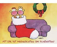 WeihnachtsPOSTkarte Mit DIR