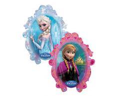 Amscan Anagram 2816201 - Party und Dekoration - Folienballon Super Shape - Disney Frozen - Elsa / Anna, circa 63 x 78 cm