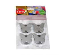 4 Tischtuchbeschwerer / Schmetterling mit Magnet