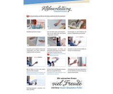 Graz Design 980032_57 Glasdekor Fensterfolie Aufkleber Sichtschutz Badezimmer WC Klo Toilette (Gre=80x57cm)