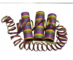 PARTY DISCOUNT ® Luftschlangen, 3er Pack - Spar-Pack mit 3 x 10 Stück