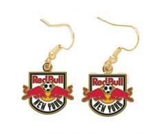 New York Red Bulls MLS WinCraft Snack-Schale Sport Nickel frei baumeln Ohrringe