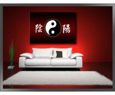 Visario Leinwandbilder 5042 Bild auf Leinwand China, 120 x 80 cm
